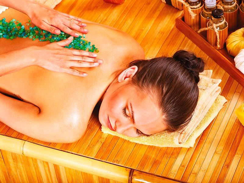 Zázvorová aroma masáž